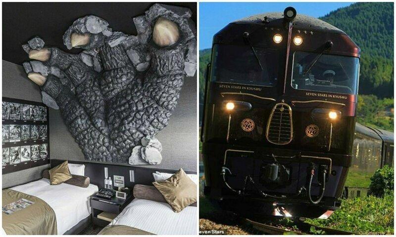 Отель-караоке и отель-поезд: 14 самых необычных вариантов размещения в Японии