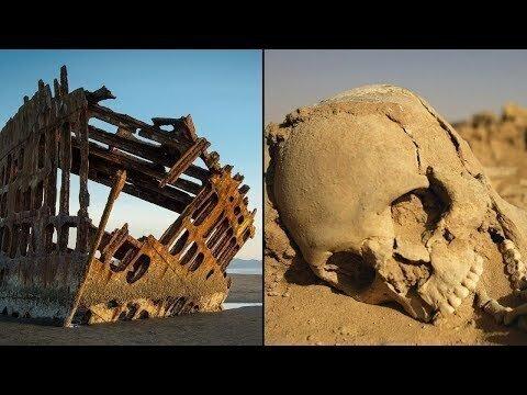 Берег скелетов - Кладбище кораблей