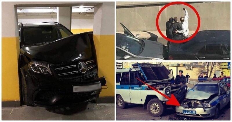 ТОП-15 нелепых ДТП, произошедших по вине упертых водителей