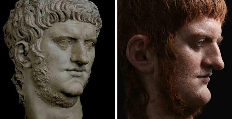 Итальянский скульптор создаёт реалистичные бюсты римских императоров
