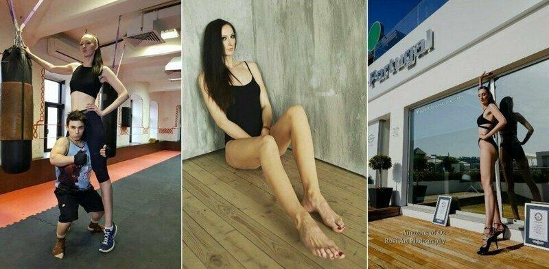 Екатерина Лисина — обладательница самых длинных ног