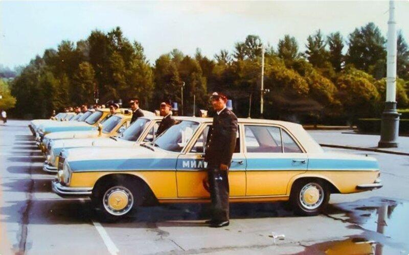 Иномарки в советской милиции