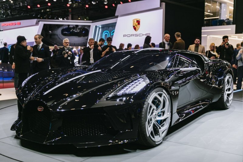 La Voiture Noire: самый дорогой автомобиль Bugatti в мире