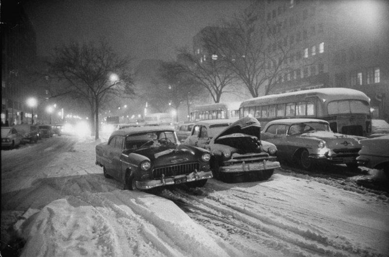 Снег на инаугурации президента США 20 января 1961 года