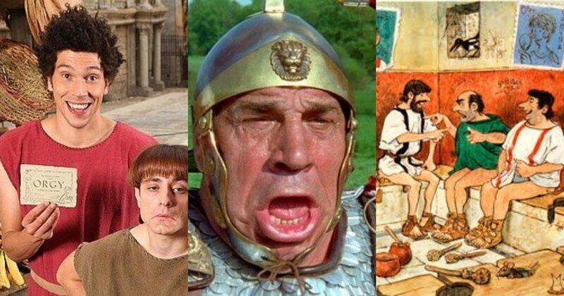 Кровь, пот и слёзы: Дикие истории из Древнего Рима