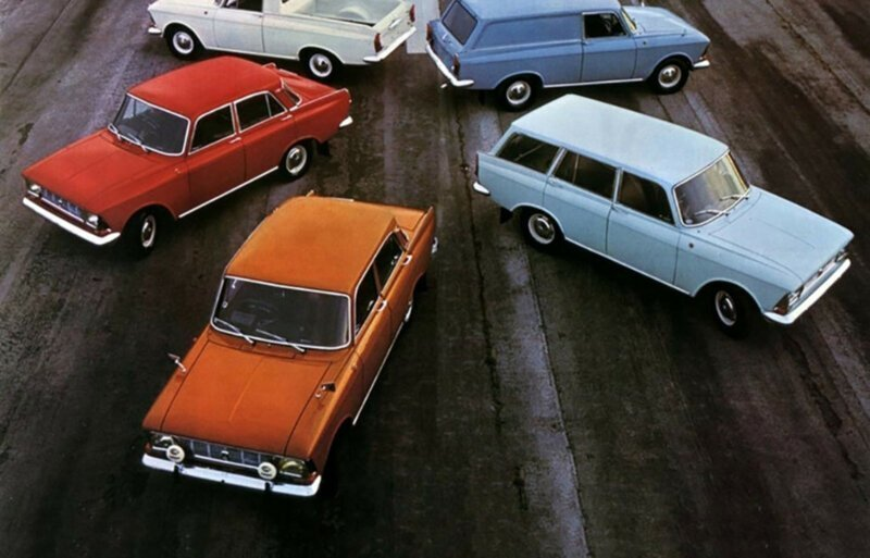 Примула, Снежная королева и Арахис: вспоминаем краски и цвета советских автомобилей
