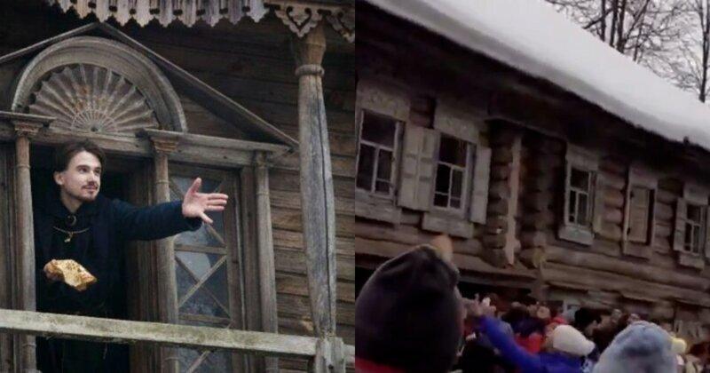 """""""Как собакам"""": в Нижегородской области празднующим Масленицу бросали блины с балкона"""