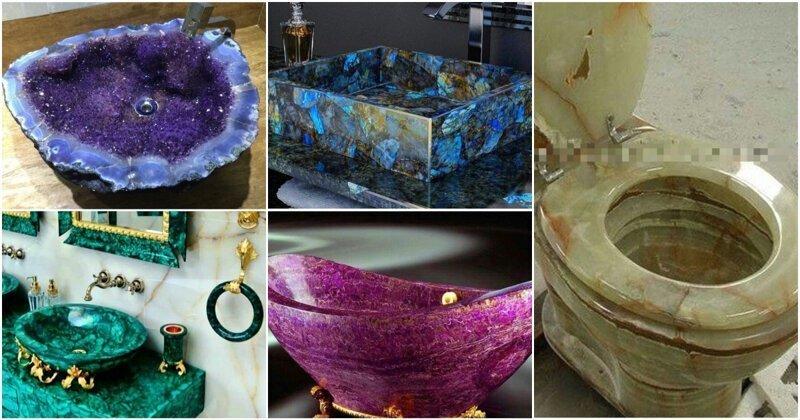 30 примеров чрезмерно роскошной сантехники, в подарок от Хозяйки медной горы
