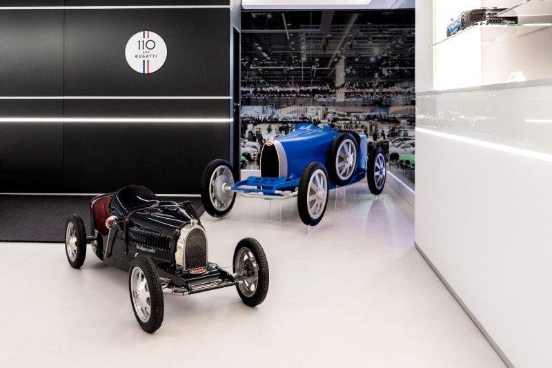 Bugatti Baby: мини-электромобиль для больших детей
