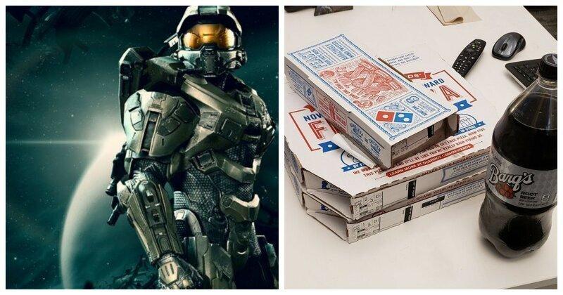 Microsoft анонсировала ПК-версию коллекции игр Halo и фанаты завалили разработчиков пиццей
