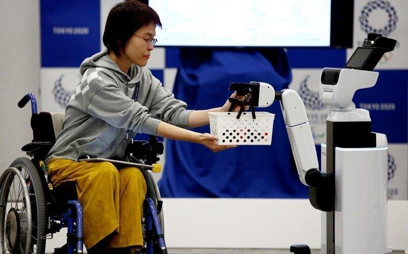 В Токио-2020 к олимпийцам приставят роботов