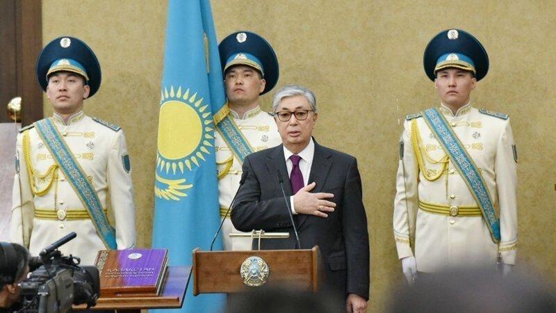 Быстро они!! Новый президент Казахстана вступил в должность