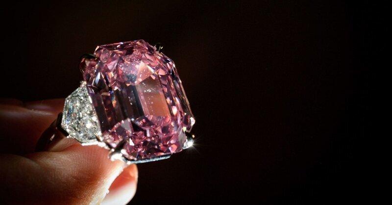 Розовые бриллианты входят в моду