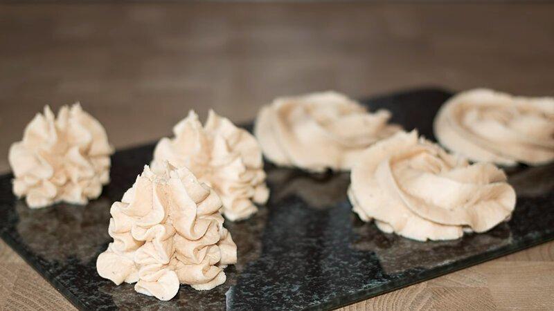 Творожно-банановый крем для тортов и пирожных