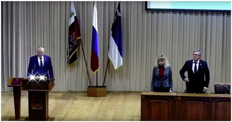 Новый глава администрации Белгорода вышел принимать присягу под музыку из «Звездных войн»