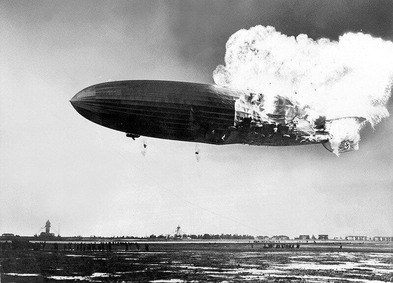 """Почему именно катастрофа """"Гинденбурга"""" поставила крест на эпохе гигантских дирижаблей?"""