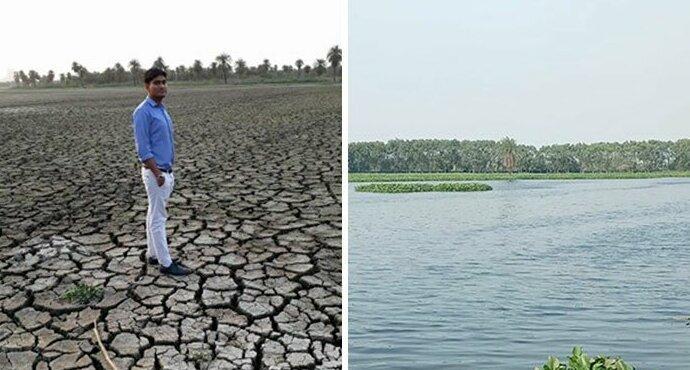 Индиец возвращает к жизни мертвые озера