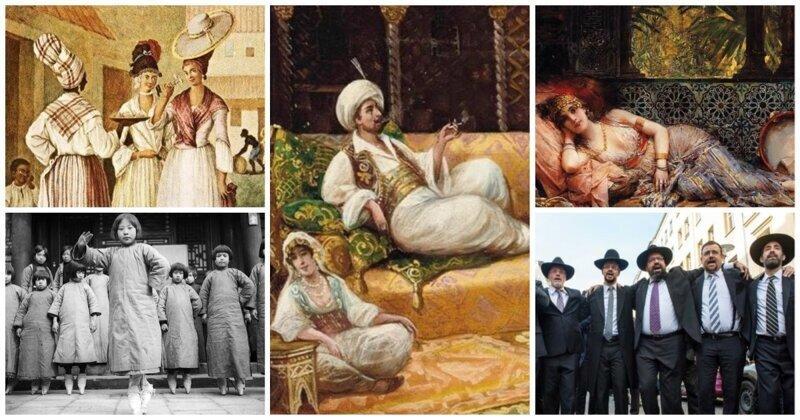 Некондиционные жены: различные типы наложниц