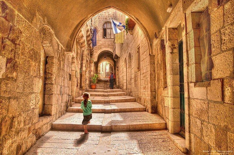 Фоторепортаж сквозь время: Иерусалим