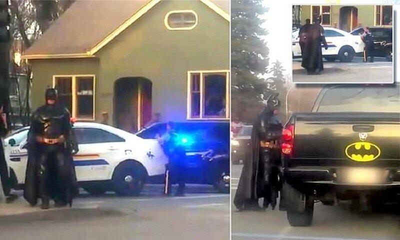 Полиция отказалась от услуг Бэтмена
