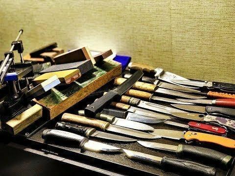 Мужское дело. Мастер-класс заточки ножей