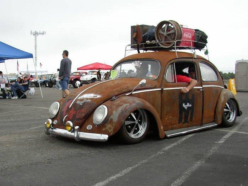 Модная ржавчина: Volkswagen Beetle Rat Look