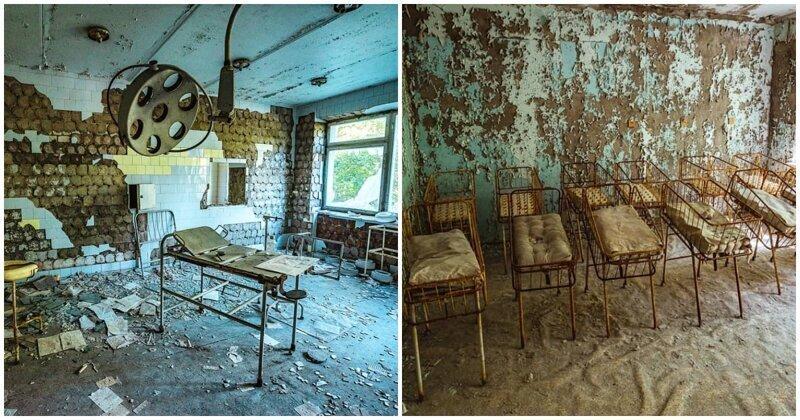 Прогулка по Припяти: заброшенные и пугающие места в объективе фотографа из Праги