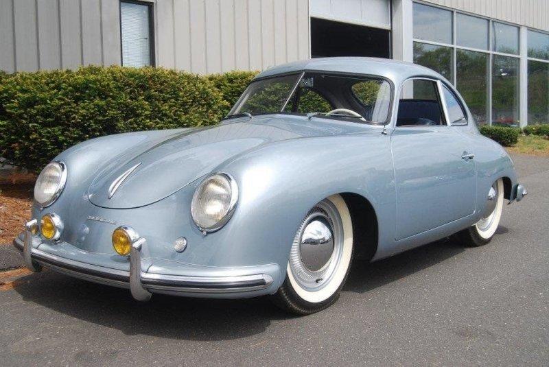 Проржавевший Porsche 1952 года выпуска продают дороже нового Cayenne