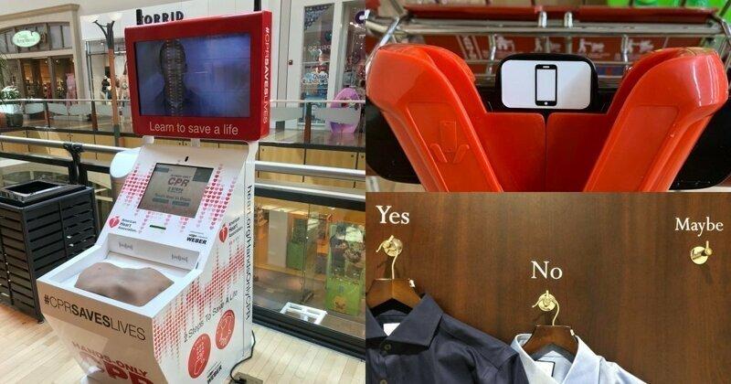 20 супермаркетов и ТЦ, в которых клиенты могут себя почувствовать в будущем