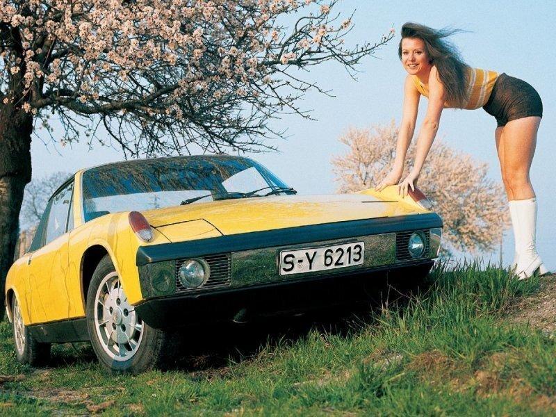 Porsche 914 1969-1976 — Да, это тоже Porsche