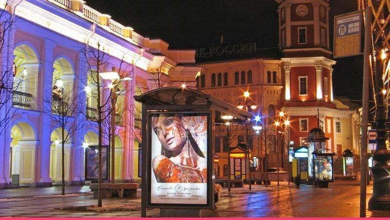 Самая весёлая улица Петербурга станет пешеходной по выходным и праздничным дням