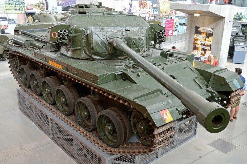 «Атомный» Centurion: как один танк пережил взрыв атомной бомбы и войну во Вьетнаме?