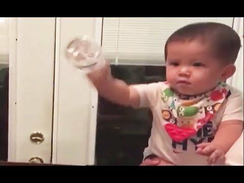 Бутылка воды челлендж
