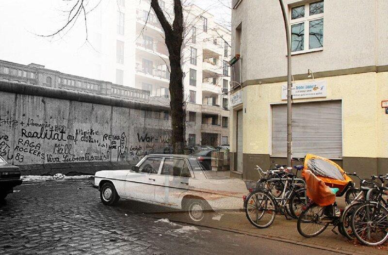 Фотограф ищет в Берлине тени прошлого