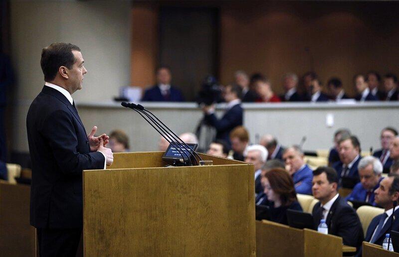 Наконец то, нашли причину бедности!!!! Медведев рассказал Госдуме о борьбе с бедностью