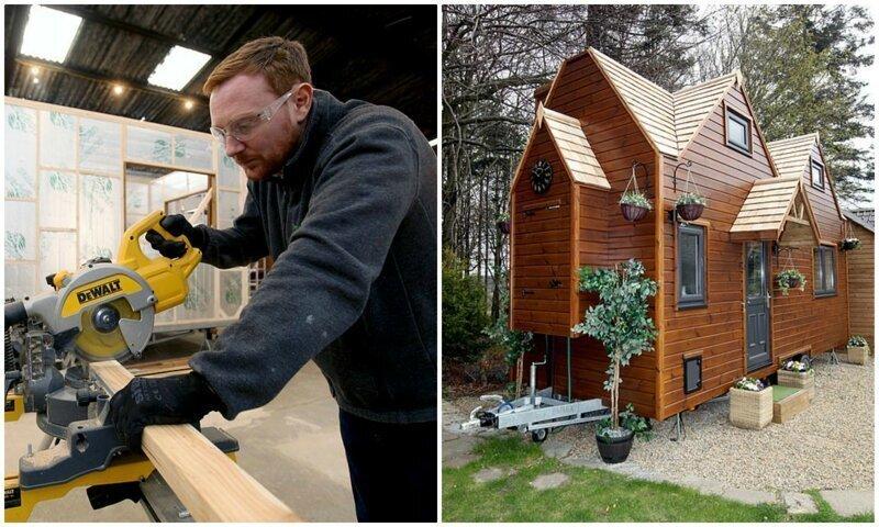 Парень построил себе эко-дом на колесах, и теперь продает такие по всему миру