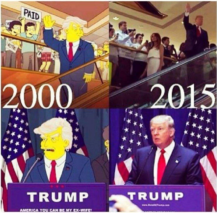 Все предсказания Симпсонов