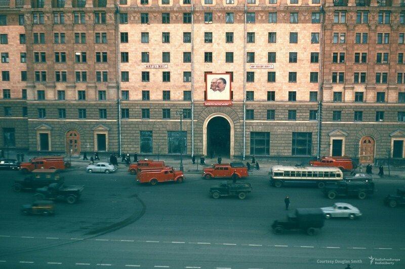 СССР 52-54г.г. Из архива американского шпиона Мартина Манхофа