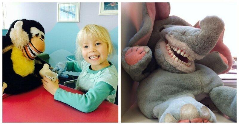 Травма детства: зубастые игрушки в кабинетах стоматологов
