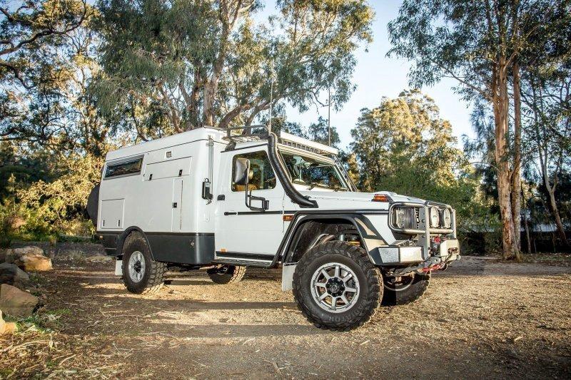 Earthcruiser Escape: Гелендваген для кругосветного путешествия