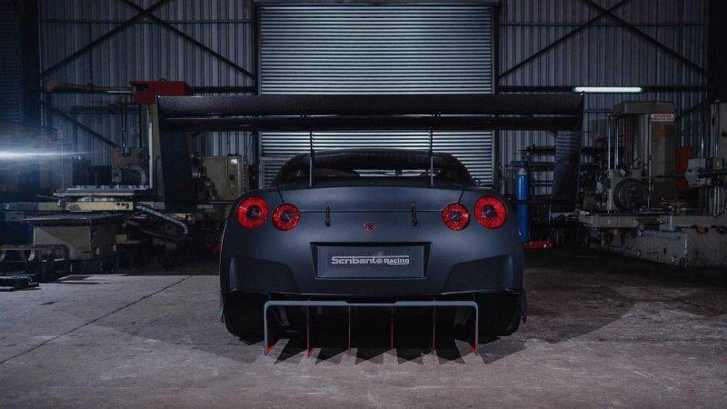 Nissan GT-R с огромными антикрыльями для скоростного подъема в гору