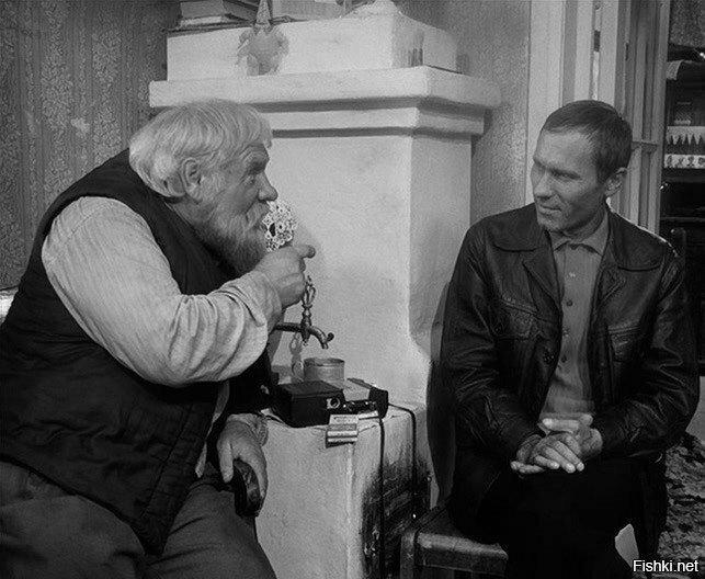 Иван Рыжов и Василий Шукшин впервые встретились на съёмках фильма «Мы, двое м...