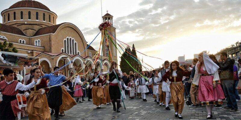 Кипрские пасхальные игры и забавы