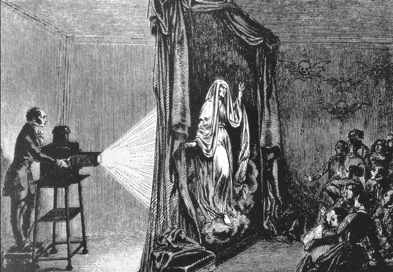 Фантасмагория и оптические призраки