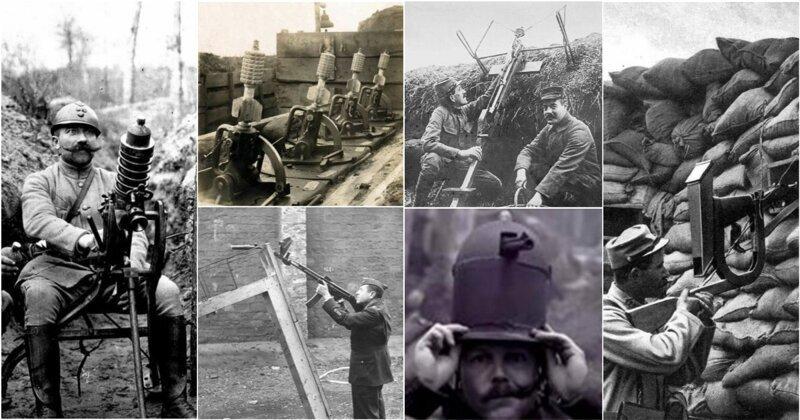 15 первых орудий для стрельбы из укрытия, которые вас непременно удивят