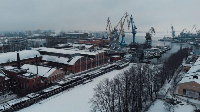 Как создаются корабли на cудостроительном заводе «Адмиралтейские верфи»