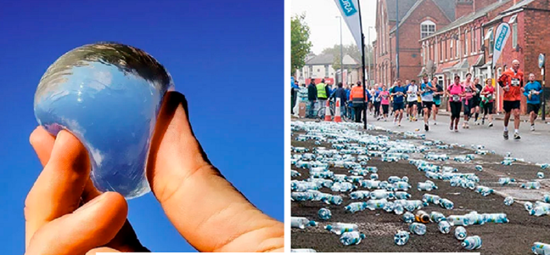 Марафонцев в Лондоне лишили бутылок
