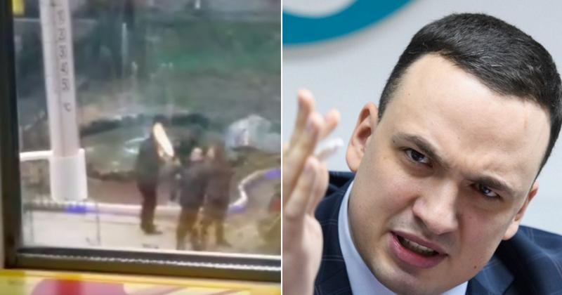 Депутат решил пострелять из автомата возле жилых домов