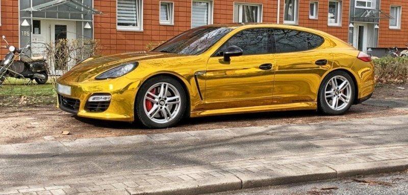 В Германии у владельца Porsche изъяли документы на машину из-за слишком блестящего цвета