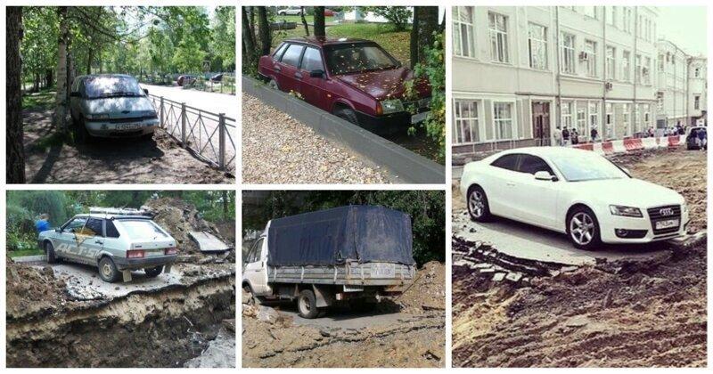 20 машин, которые замуровали дорожные демоны